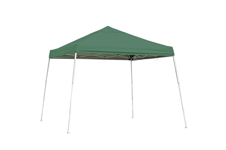 ShelterLogic 22557 10x10 SL Pop-up Canopy Green Cover Black Roller Bag B003AQT9Q2