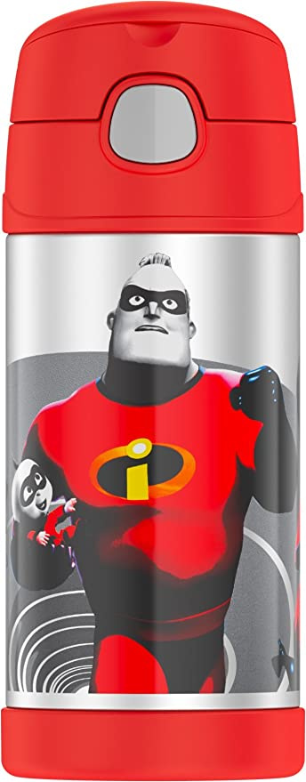 Thermos Funtainer 12 Ounce Bottle, Incredibles 2