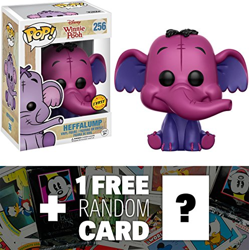 Heffalump (Chase): Funko POP! x Disney Winnie the Pooh Vinyl Figure + 1 FREE Classic Disney Trading Card Bundle (112635)