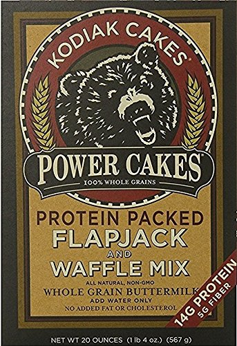 Kodiak Cakes Power Cakes: Flapjack and Waffle Mix Whole Grain Buttermilk Net Wt. 4.5 lb (Pancake Whole Grain Mix)