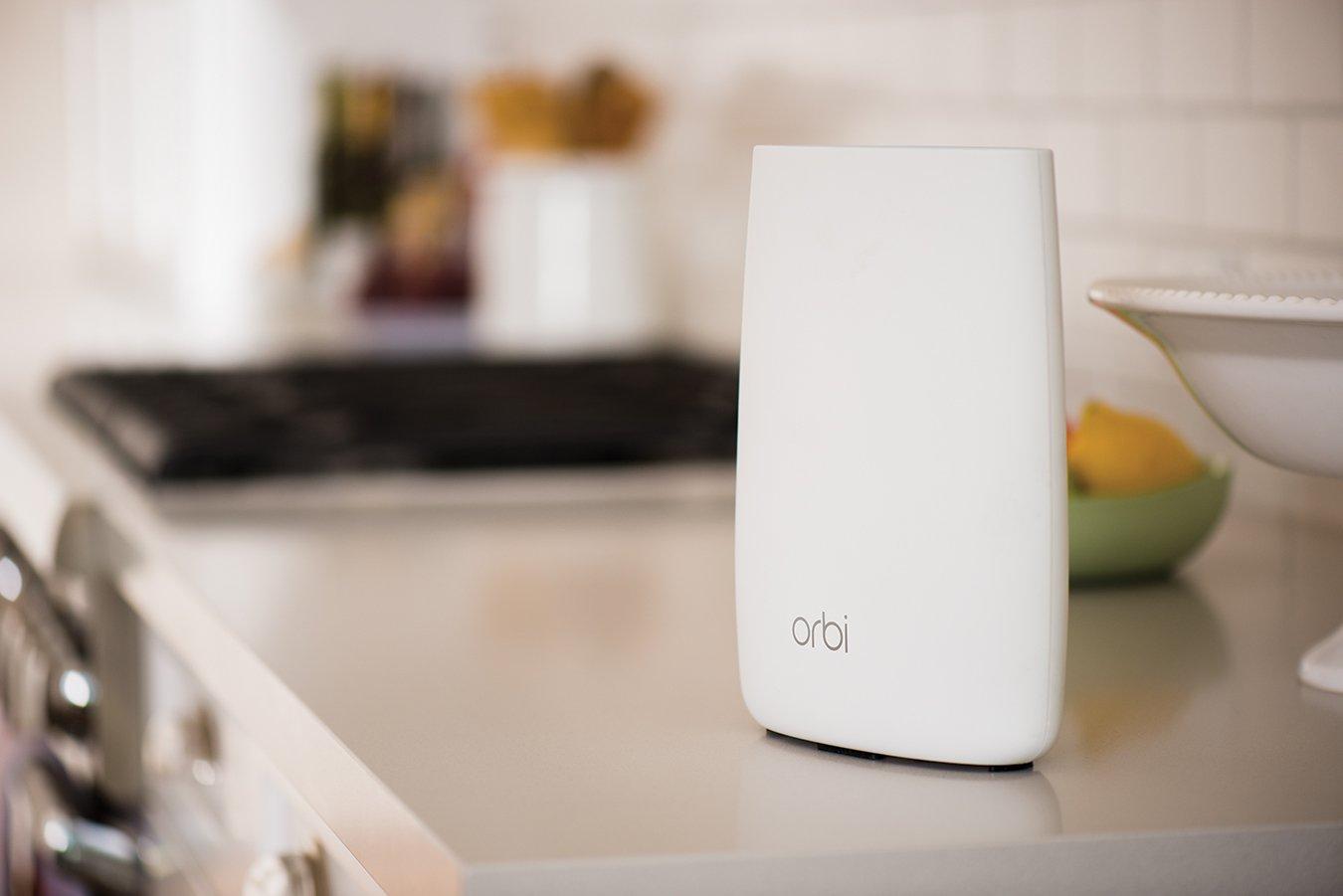 amazon com netgear orbi home wifi system ac3000 tri band wifi