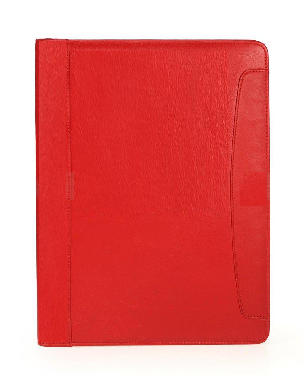 'Alassio Porte-documentsVALLO 30093écriture Étui DIN A4en cuir rouge