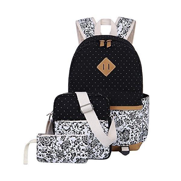 37ee28df51 ... scuolaZaino Casual Scuola Set 3pcs Daypacks / Canvas Backpack Tela  Zaini Ragazza / Donna+ Messenger Bag + Purse. -53%. 🔍. Valigeria ...