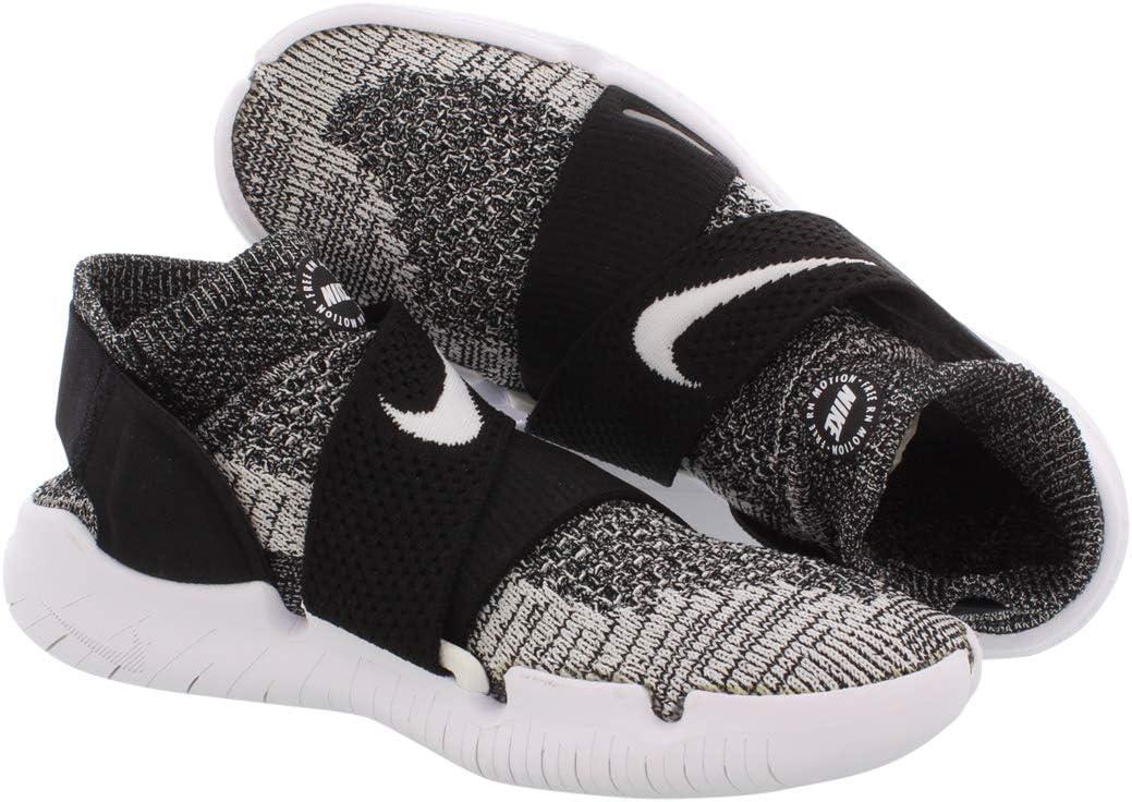 Nike W Free Rn Motion FK 2018 Hardloopschoenen voor dames Black Black White 001