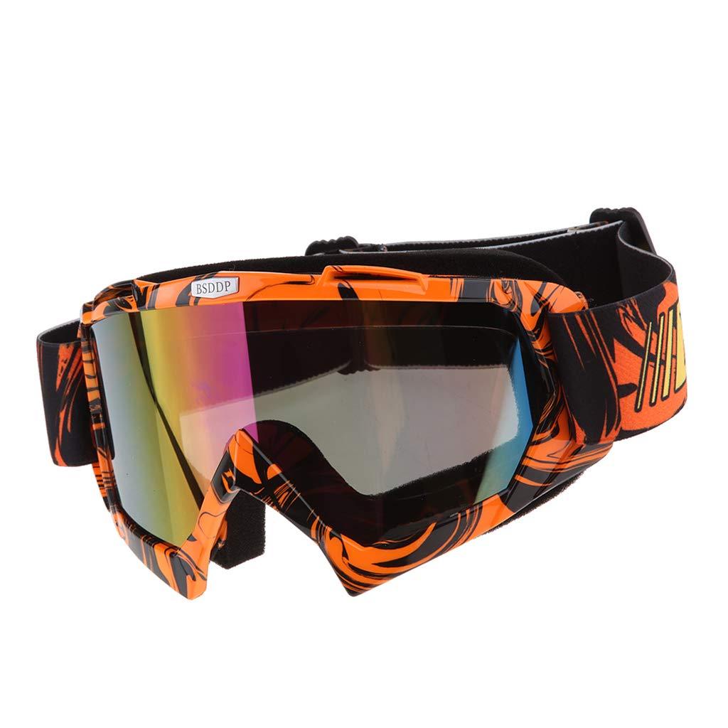 Shiwaki Occhiali Motocross Sci Sports Al Aperta Cintura Regolabile Protezione Occhio Verde