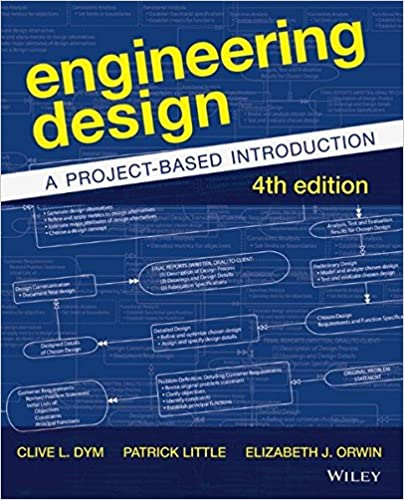 Engineering Design A Project Based Introduction Dym Clive L 9781118324585 Amazon Com Books