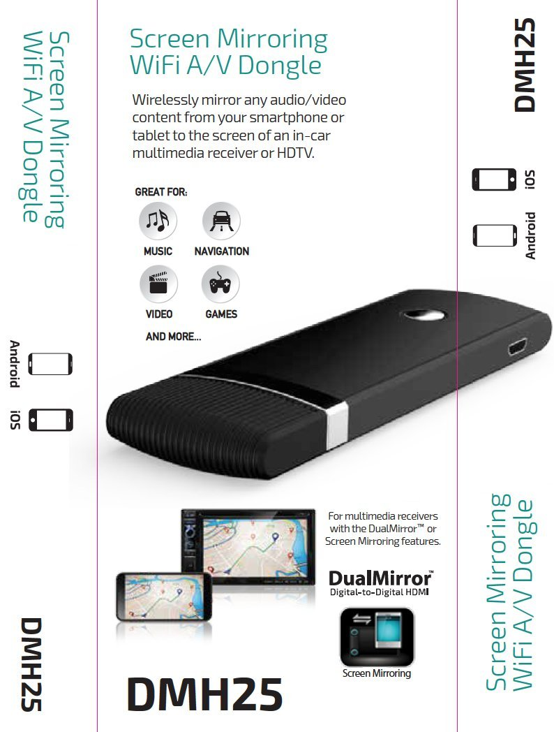 Amazon.com: Dual Electronics DMH25 Multimedia HDMI/USB Wi-Fi Dongle for Wireless Networks: DUAL: Car Electronics