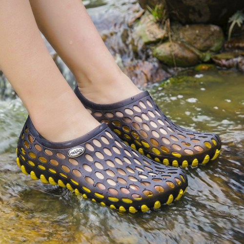 Home Slipper Diving Surf Swimming Kid Outdoor for Women Water Yellow Summer Men Beach Aqua Pool Quick for Shoe Shoes Dry afwfZqC