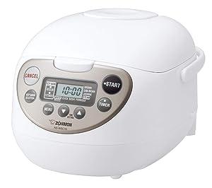 Zojirushi Micom Rice Cooker & Warmer 5.5 Cups White Steamer NS-WSC10