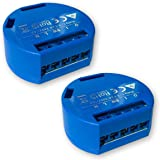 Shelly One 1 Switch Smart Relay Wireless WiFi Home Automation Android Application iOS (2 Pack)