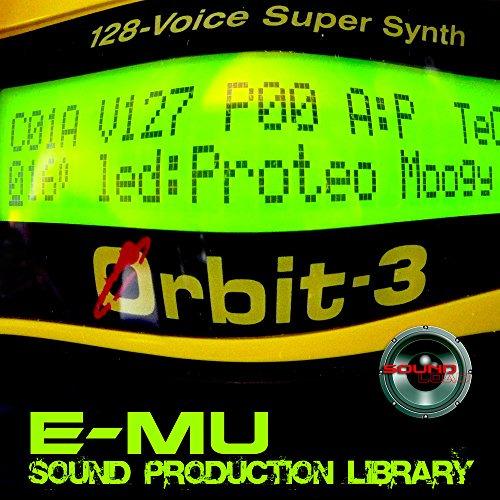 E-mu PROTEUS - THE King of Dance Modules - Large Original 24bit Multi-Layer WAVe/Kontakt Samples/Loops Studio Library; FREE USA Continental Shipping on DVD or download by SoundLoad (Image #4)