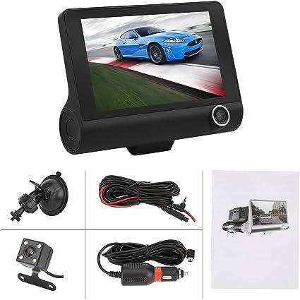 "2.4/"" HD Night Vision Car Suv DVR Rearview mirror Camera Video Recorder Dash Cam"