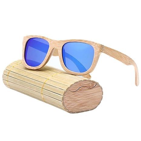 """33694163ad Gafas de sol polarizadas para hombre y mujer estilo """"vintage"""" con montura  de"""