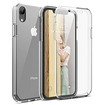 coque iphone xr silicone avant arriere