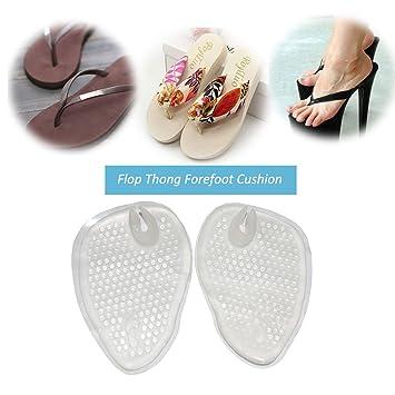 fd22ef0c2688 Amazon.com  (2 Pairs)Gel Cushions For Flip Flop Sandals