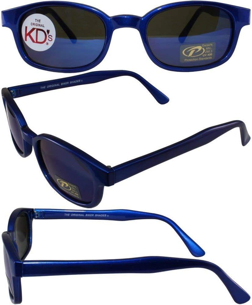 Blue Frame//Blue Mirror Lens by Pacific Coast Sunglasses Original KDs 20122