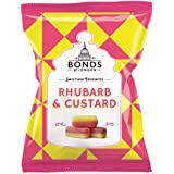 Original Bonds London Rhubarb & Custard Bag Sugar Coated Rhubarb & Vanilla Flavored Boiled Sweets Imported From The UK The Be