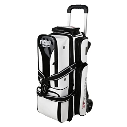2fa7cb8067 Image Unavailable. Image not available for. Color  Storm Rolling Thunder 3  Ball Signature Bag White Black