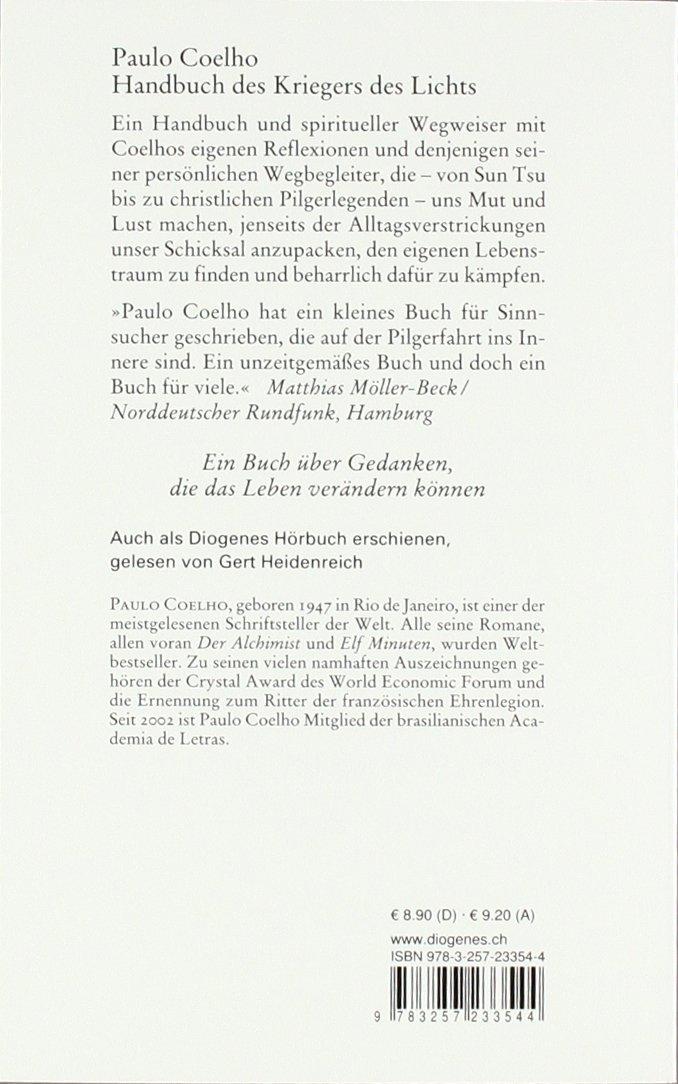 Handbuch krieger des lichts zitate