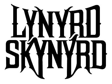 Amazon Lynyrd Skynyrd Rock Band Logo Stickers Rock Band Symbol