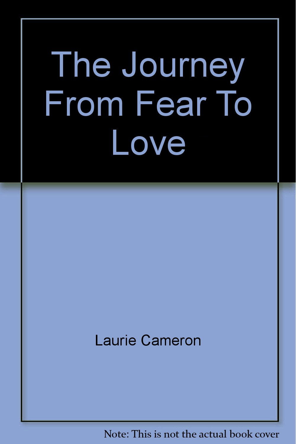 Workbooks receiving love workbook : The Journey From Fear To Love: Laurie Cameron, Joe Mierzwa ...