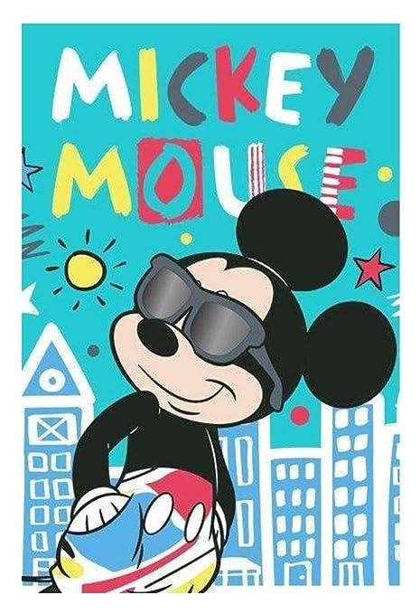 Disney Mickey 048 Ratón Niños de Toalla 40 x 60 cm