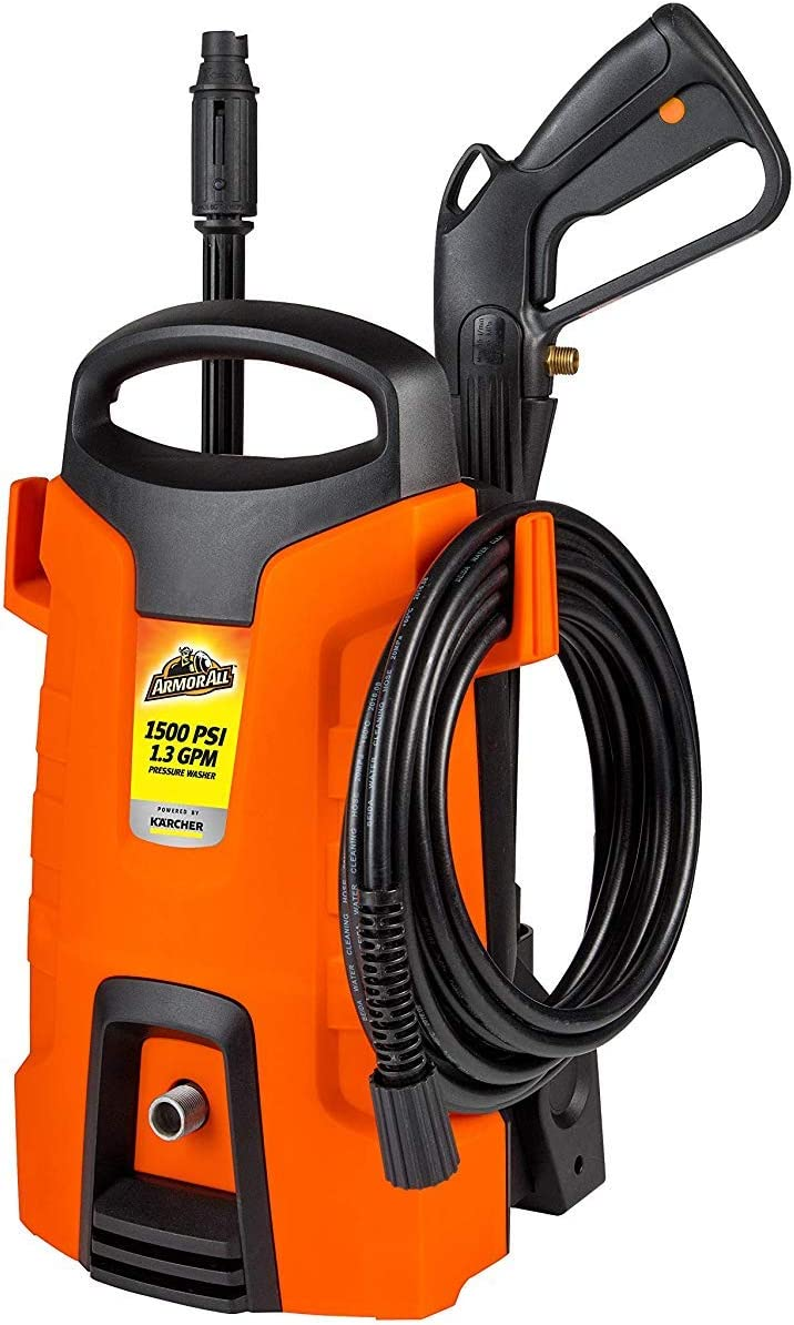 Karcher 11061310 Armor All AA1500 1500 PSI Pressure Washer, Orange