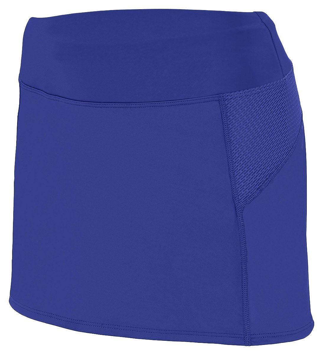 Augusta Sportswear Big Girl's Femfit Skort Red/Graphite 2421A M