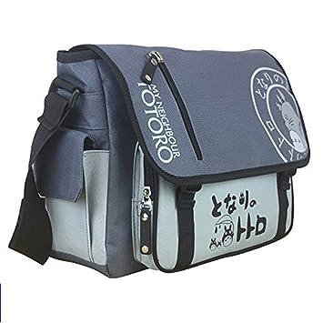 Amazon.com: Anime My Neighbor Totoro Canvas Messenger Bag: Sports ...