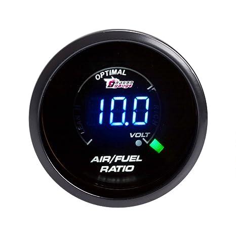 Awe Inspiring Amazon Com Sinovcle Car Gauge 2 Air Fuel Ratio Meter Afr Blue Led Wiring Digital Resources Funiwoestevosnl