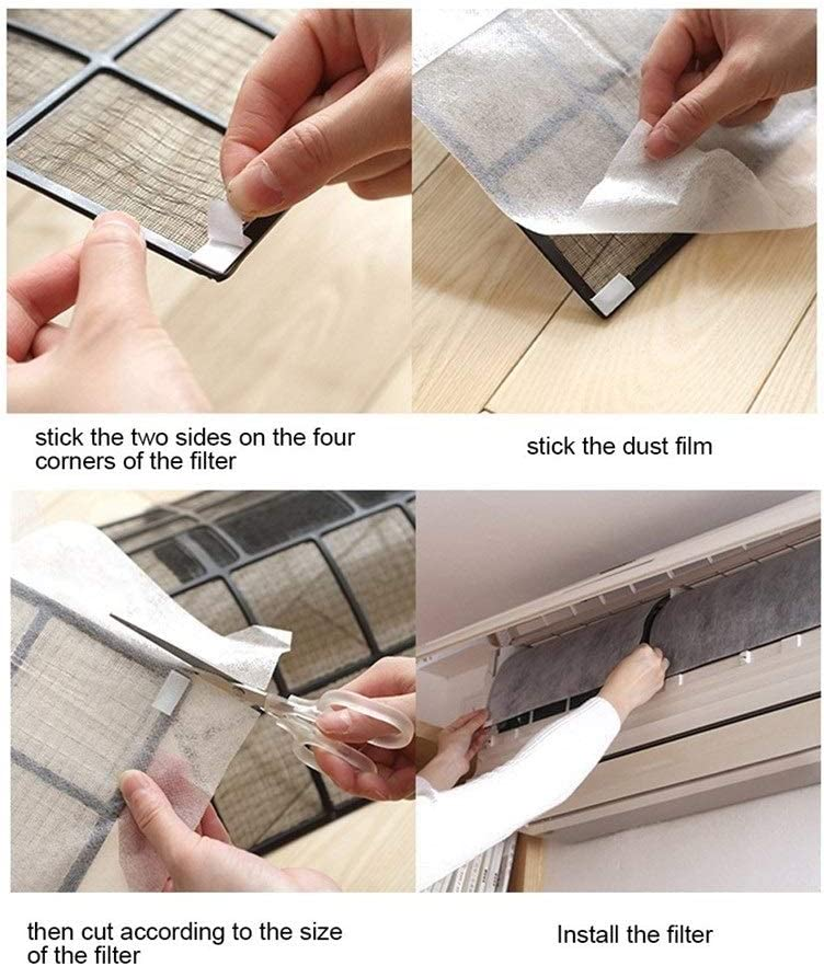 Filtro para aire acondicionado Aire acondicionado Limpieza del ...