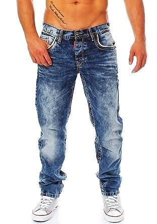 Cipo   Baxx Herren Jeans CD-148 mit fetten Kontrastnähten 29 30 ... 14796dd99e