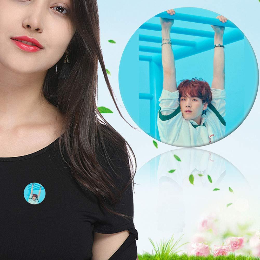 Love Yourself:Answer YEeyuTrwd BTS Bangtan Boys BTS Merch beste Gife f/ür die BTS Armee BTS Kissenbezug BTS Brosche BTS Fotokartensatz BTS Poster