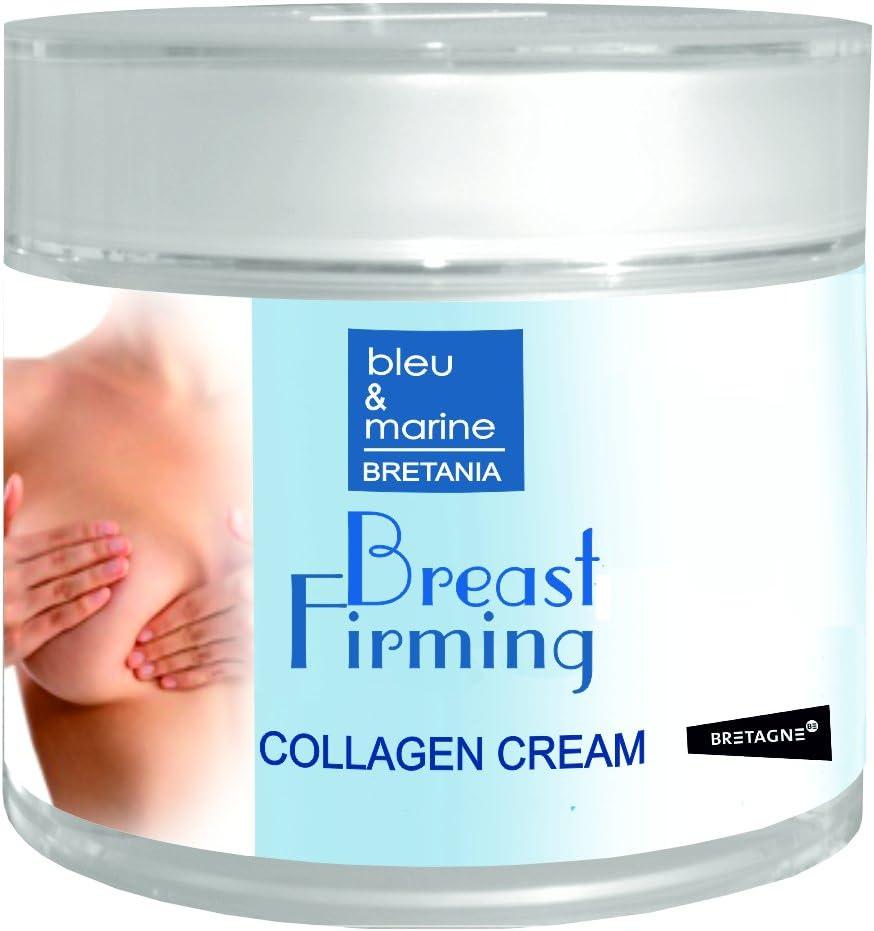 Crema reafirmante de senos bleumarine Bretania con colágeno nativo y elastina