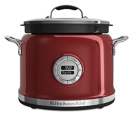 Amazon Com Kitchenaid Kmc4241ca Multi Cooker Candy Apple Kitchen