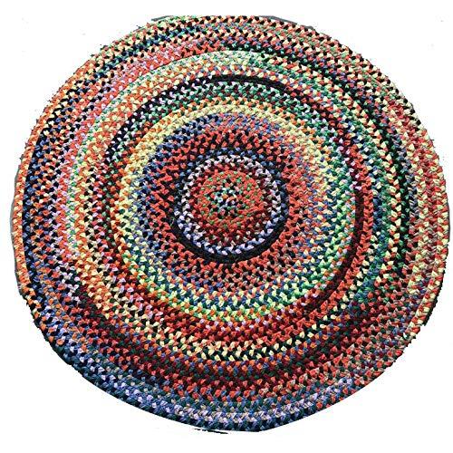 LXMBox Cojín Redondo para meditación/Alfombra Circular ...