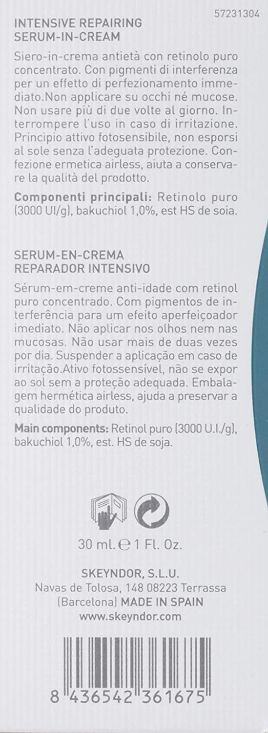 Amazon.com: Power Retinol de reparación serum en crema ...