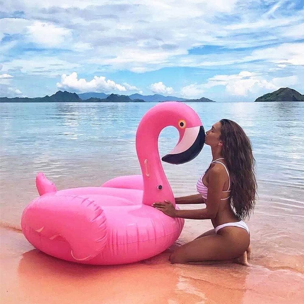Amusante WC-Brosse Flamingo Batteur Brosse WC Zoo Flamants roses d/'été