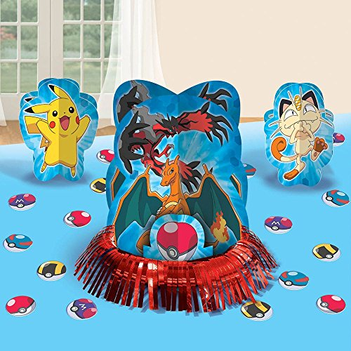 Pokemon 'Pikachu and Friends' Table Decorating Kit (23pc)