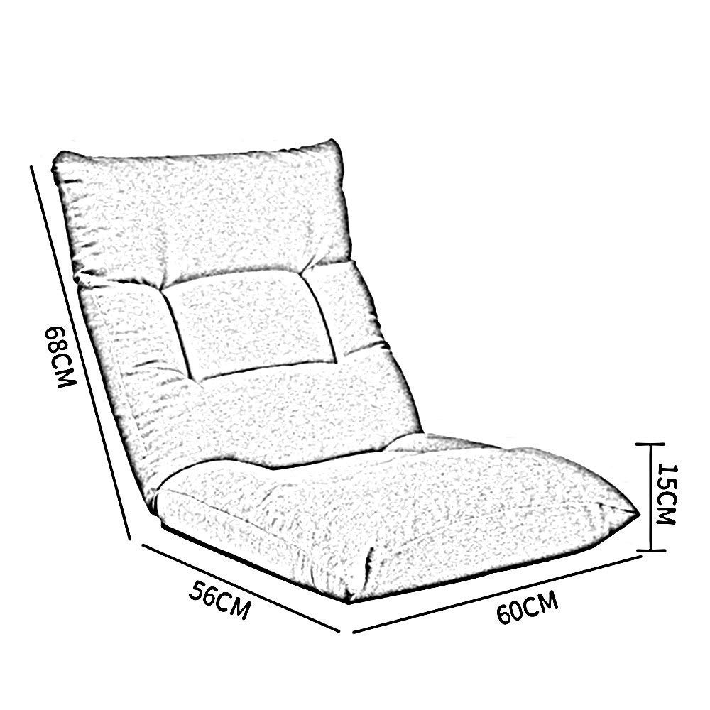 Amazon.com: XQY Dormitory Bed Chair, Student Lazy Chair ...