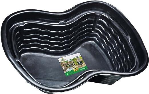 Heissner B1001 – 00 PE montado – Platillos 1000 litros 224 x 150 x 70 cm nierenförmiges Estanque Platillos para su Jardín Estanque: Amazon.es: Jardín