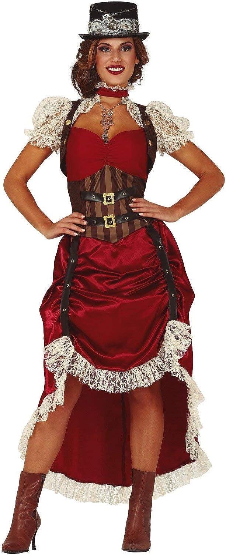 FIESTAS GUIRCA Disfraz de Mujer gótica Victoriana Steampunk ...