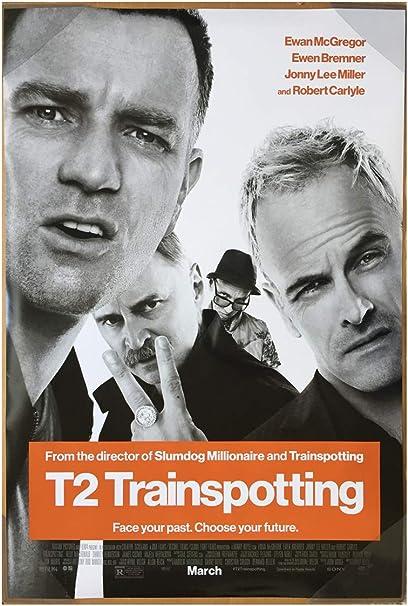 Miller - Ewan McGregor Ewen Bremner 24x36 T2 Trainspotting Movie Poster