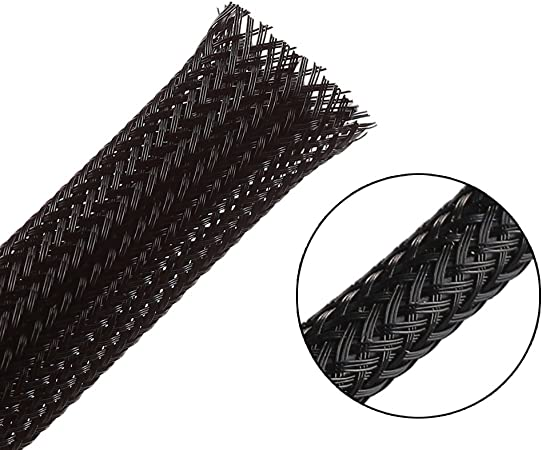 1//8 RATTLESNAKE 25ft - expandable sleeving