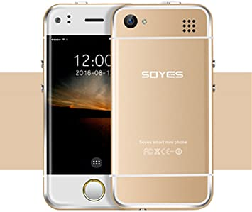 Moviles Libres Baratos,Mini teléfono celular desbloqueado SOYES Smartphone GSM Desbloqueado 2.45