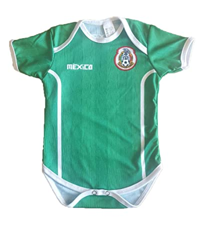 c88e548b5 Amazon.com : Mexico 2016 National Green Jersey Baby Suit : Baby