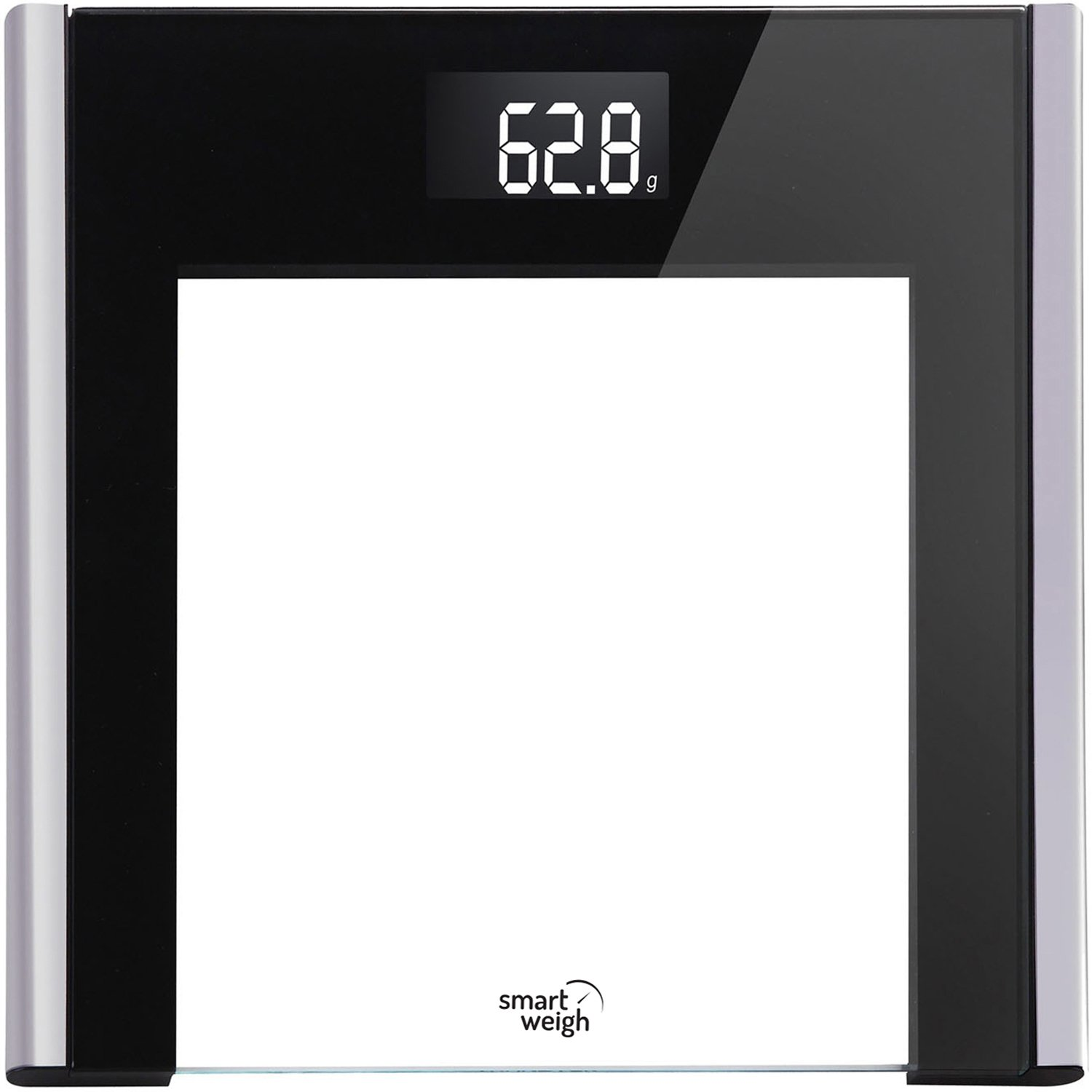 Smart Weigh, DVS250 - Balanza de Tocador Digital de Alta Precisión con Plataforma Extra Ancha, Tecnología Step-On y Pantalla LCD: Amazon.es: Hogar