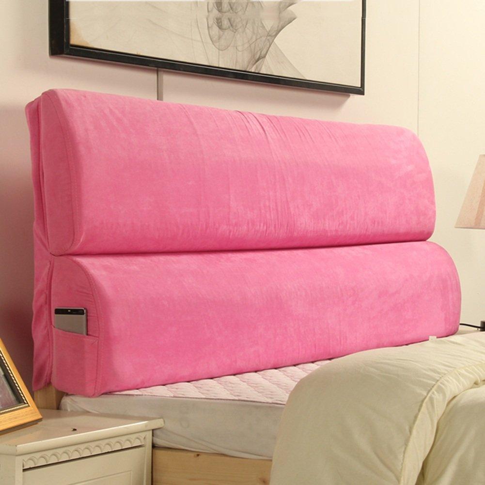 LIANGJUN 大きい背もたれピローのヘッドボードクッションウエストパッド柔らかいパッケージ、ベッドサイドフード付き、123X55cm、5色使用可能 ( 色 : 3# ) B07CDCR53N 3# 3#