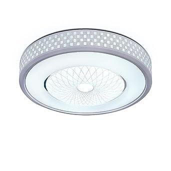 LED Wohnzimmer Deckenleuchten Atmosphäre Rund Esszimmer Licht Modern  Minimalist Geometrisch Streifen Dekoration Star Disk Lampenschirm  Schlafzimmer