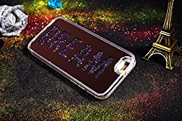 iPhone 6S Case,iPhone 6 Case,ikasus Rose Gold Plating Mirror Dream Liquid Quicksand Flowing Floating Bling Glitter Sparkle Hard Back Soft TPU Bumper Cover Case for Apple iPhone 6S / 6 4.7\